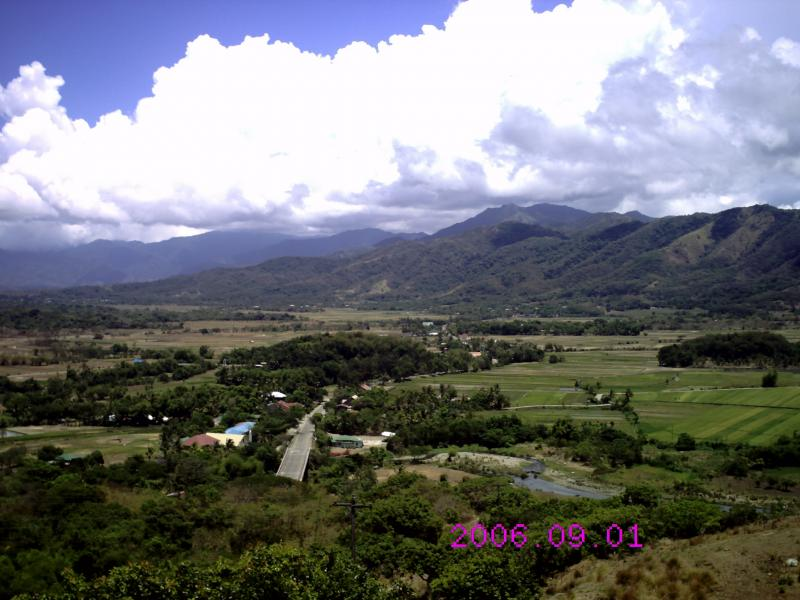 Mountain Agricultural area in central Luzon